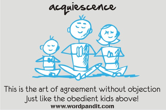 Meaning Of Acquiescence