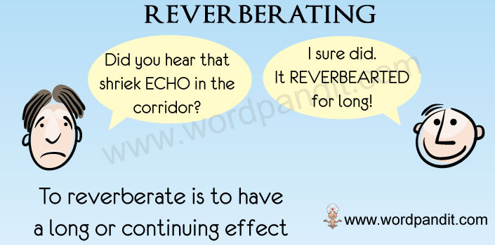 picture vocabulary for reverberating