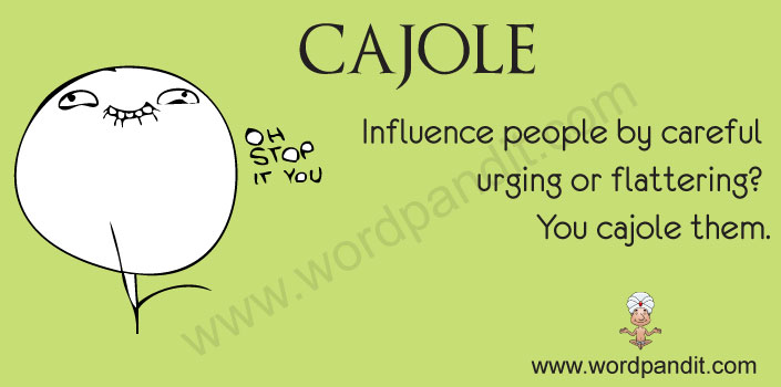 picture for cajole