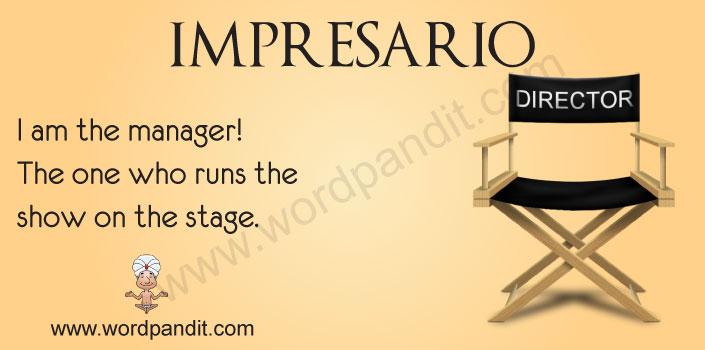 picture for impresario
