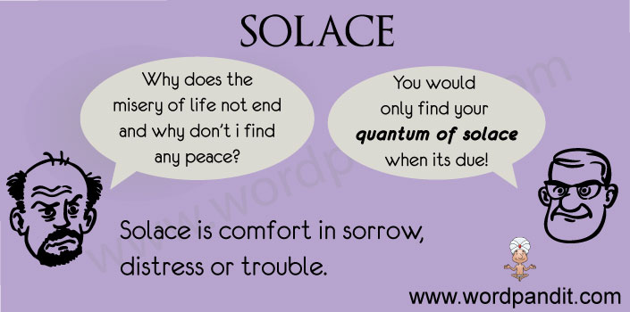 contextual vocabulary for solace