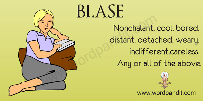 Picture for blase