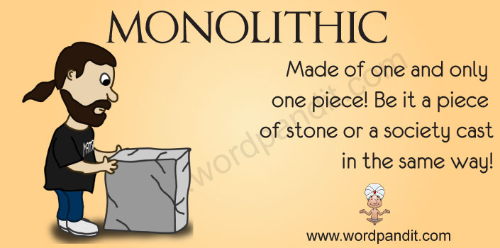 Picture for Monolithic