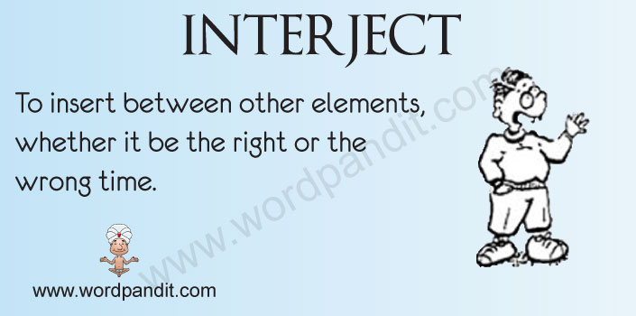 Picture for Interject