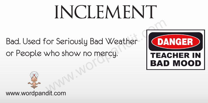 Picture for Inclement