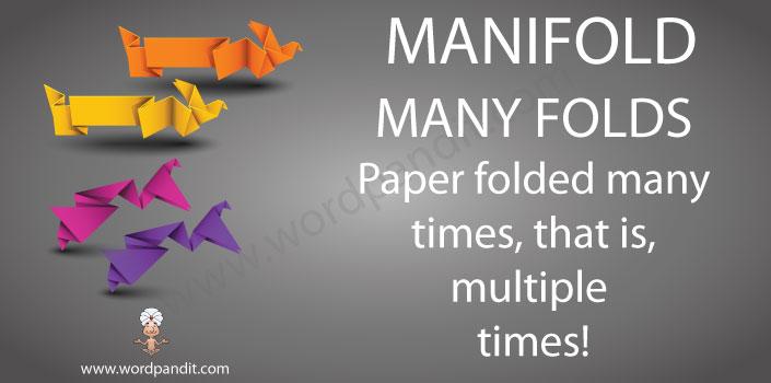 mnemonic tip for manifold