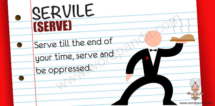 picture for servile