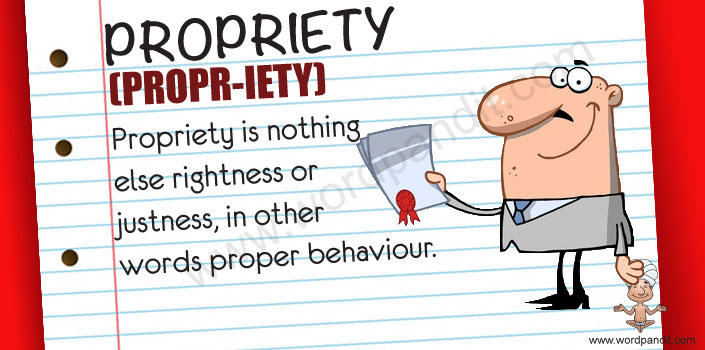 Picture for propriety