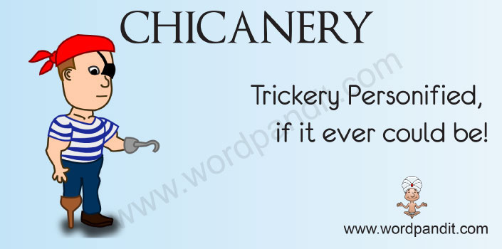 Picture for chicanery