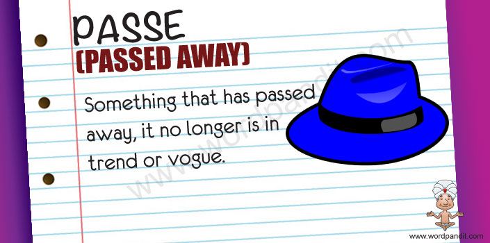 picture and mnemonic for passe