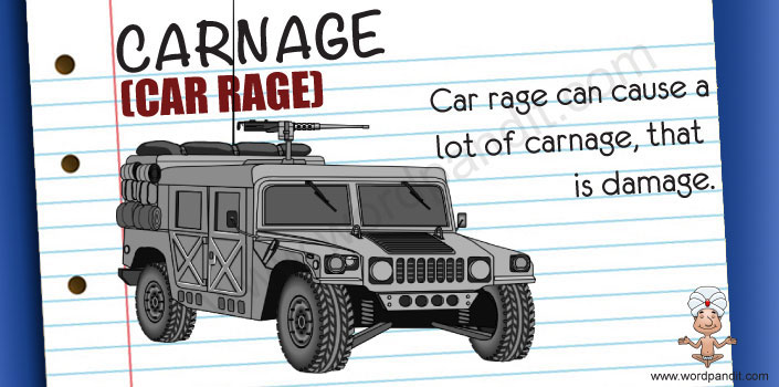 picture and mnemonic for carnage