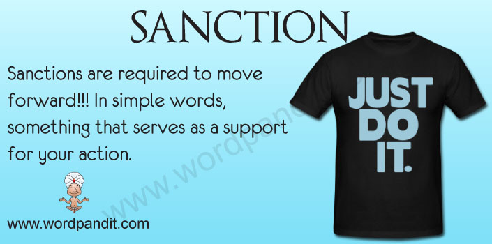 Picture for Sanction