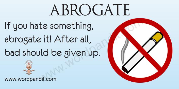 picture for Abrogate