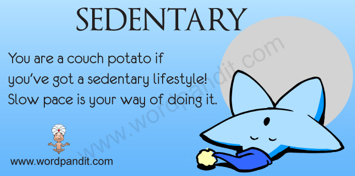 Picture for Sedentary