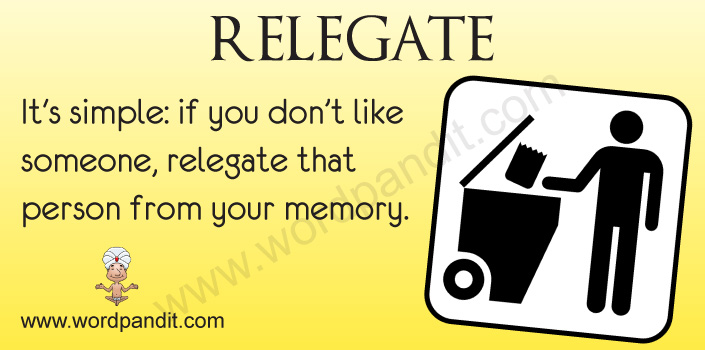 Picture for Relegate