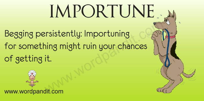 Picture for Importune
