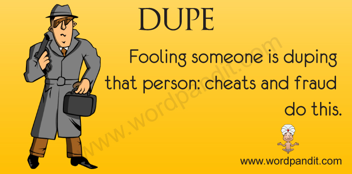 Picture for Dupe