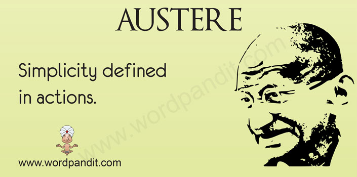 picture for austere