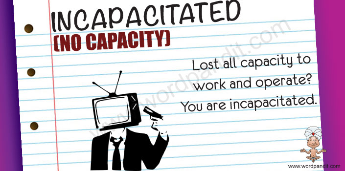 Picture for incapacitated