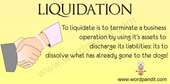 Picture for Liquidation