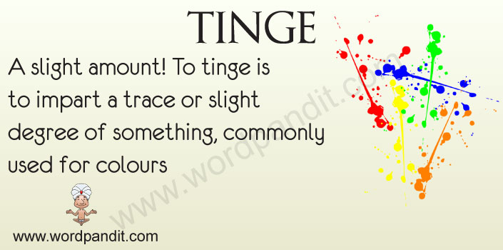 Picture for tinge
