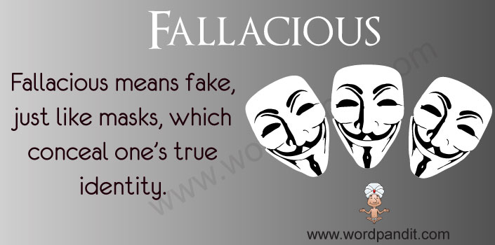 Picture for Fallacious
