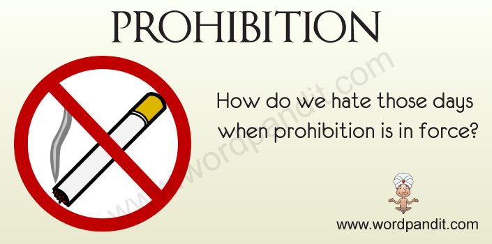 Picture for Prohibition