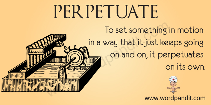 Picture for Perpetuate