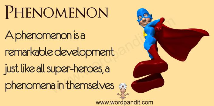 Picture for Phenomenon