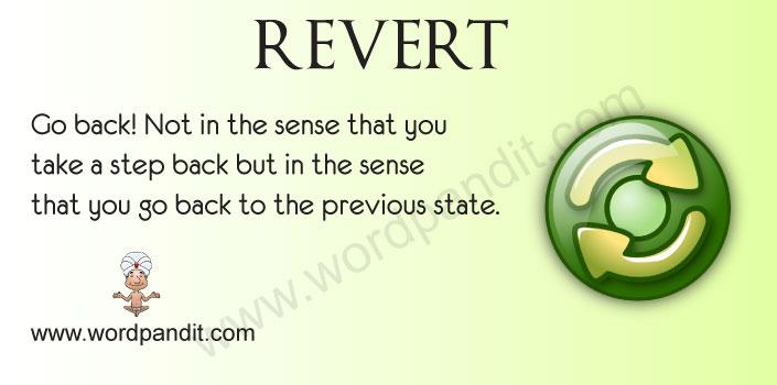 Picture for Revert