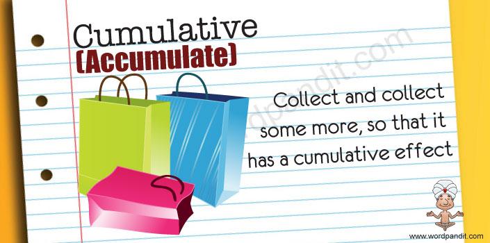 Mnemonic for Cumulative