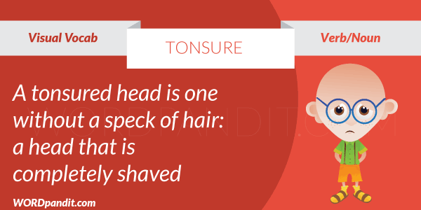 picture for tonsure