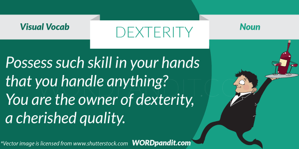 picture for dexterity