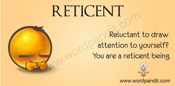 picture for reticent
