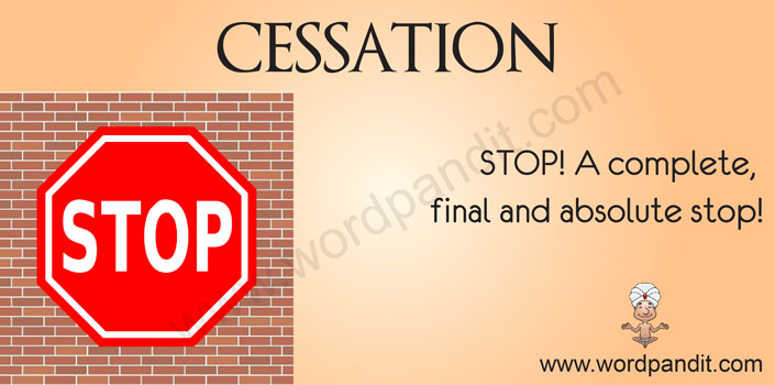 picture for cessation