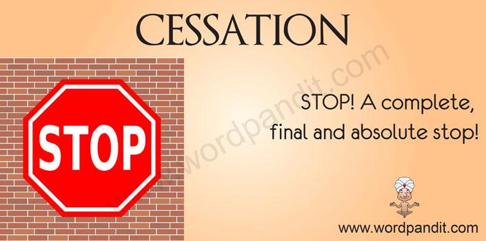 picture for cessation