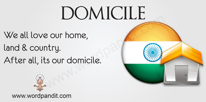 picture for domicile