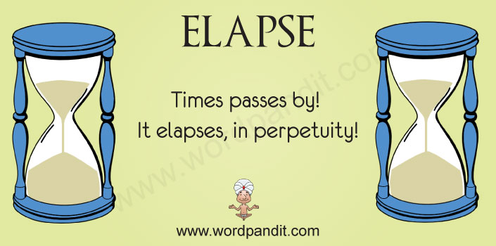 picture vocabulary for elapse