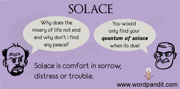 contextual vocabulary for solace