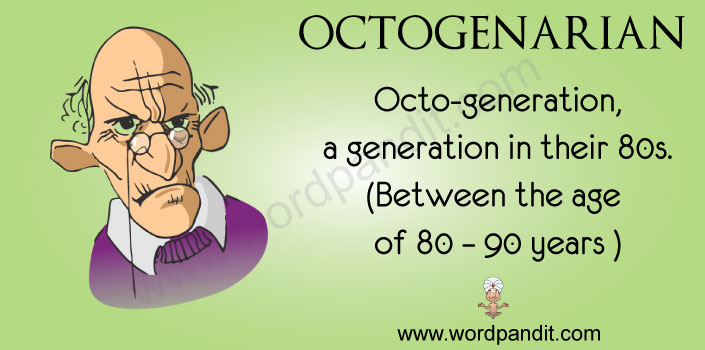 picture vocabulary for octogenarian
