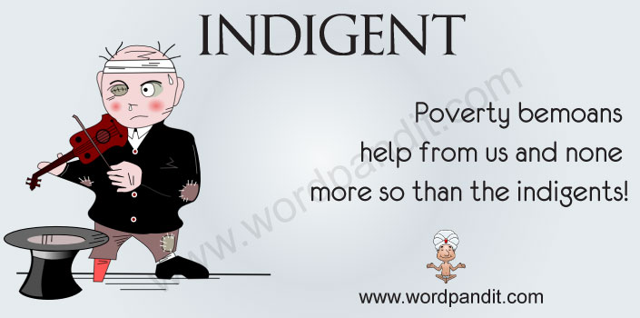 Picture for indigent