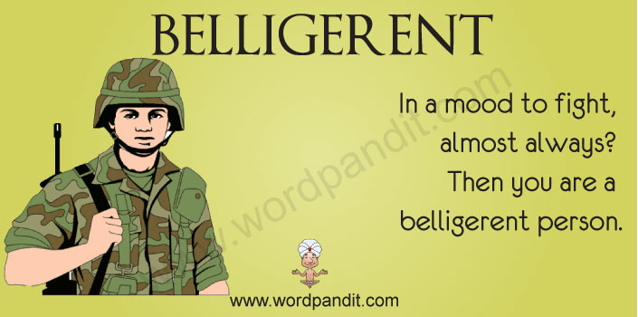 picture for belligerent