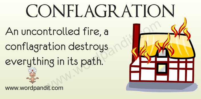 picture for conflagration