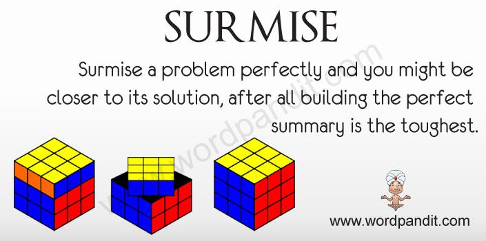 Picture for Surmise