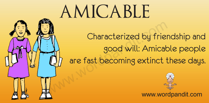 Picture for Amicable
