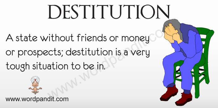 Picture for Destitution