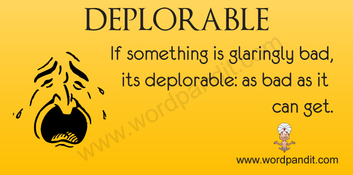 Picture for Deplorable