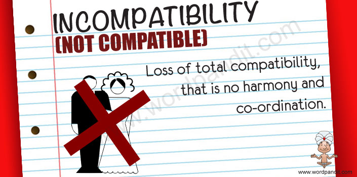 Picture for incompatibility