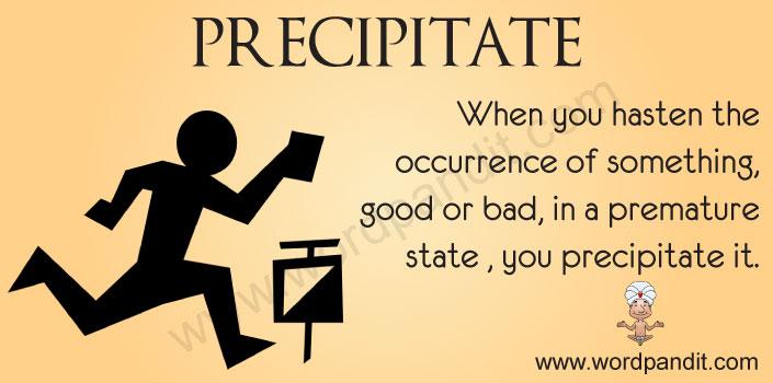 Picture for precipitate