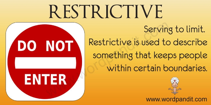 Picture for Restrictive